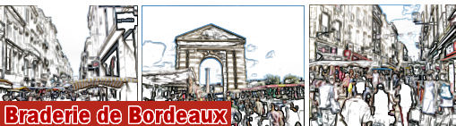 Braderie de Bordeaux centre ville