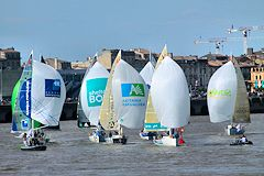 Bordeaux Solitaire du Figaro : run exhibition