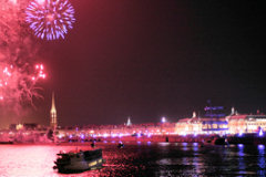 Bordeaux fête du fleuve - spectacle pyrotechnique | photo 33-bordeaux.com