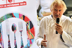 Pierre Gagnaire parrain de Bordeaux SO Good 2018 | Photo Bernard Tocheport