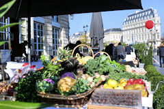Marché des producteurs terrasse Intercontinental Bordeaux SO Good 2018 | Photo Bernard Tocheport