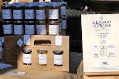 Miel l'Essaim de la Reine marché des producteurs Intercontinental Bordeaux SO Good 2018 | Photo Bernard Tocheport