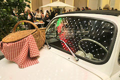 Fiat 500 pour ambiance Dolce Vita Bordeaux SO Good 2018 | Photo Bernard Tocheport