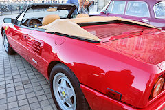 Ferrari exposée place Jean Jaures Bordeaux SO Good 2018 | Photo Bernard Tocheport