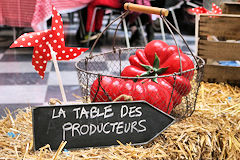 La table des Producteurs Bordeaux SO Good 2018 | Photo Bernard Tocheport