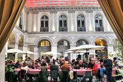 Banquet champêtre au Palais de la Bourse Bordeaux SO Good 2018 | Photo Bernard Tocheport