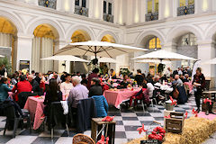 Palais de la Bourse la Table des Producteurs Bordeaux SO Good 2018 | Photo Bernard Tocheport
