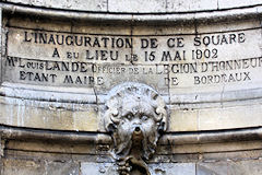 Historique fontaine Amédée Larrieu -  photo 33-bordeaux.com