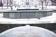 Fontaine de Tourny à Québec - Photo Patrick Philion