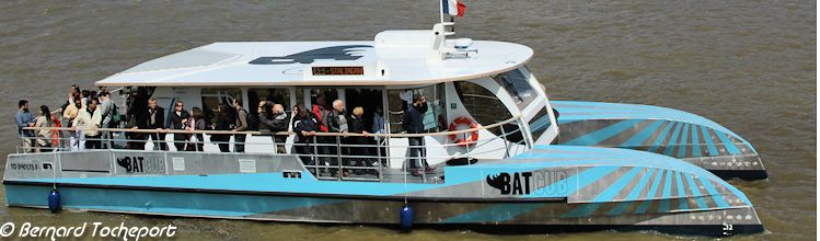 BATCUB catamaran hybride de Bordeaux