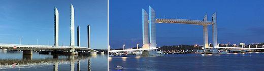 Les horaires de fermeture du pont Chaban Delmas Bordeaux