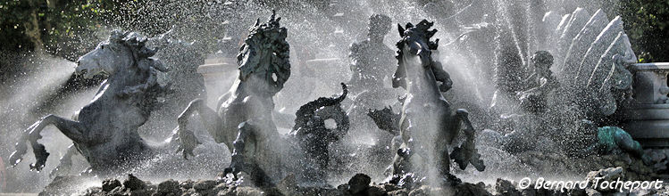 Chevaux de la fontaine des Girondins à Bordeaux | Photo Bernard Tocheport