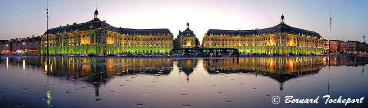 Le miroir d 39 eau des quais de bordeaux reflets et brumes for Miroir bordeaux