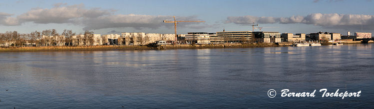 Photo panoramique Bordeaux rive droite
