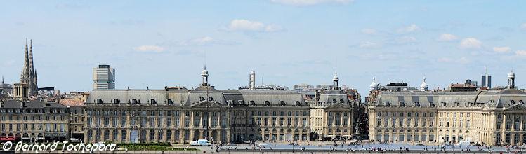 Bordeaux photos panoramiques des principaux monuments de for Bernard werber le miroir de cassandre