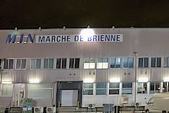 M.I.N Marché de Brienne à Bordeaux la nuit  |  photo 33-bordeaux.com