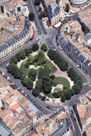 Survol de Bordeaux -  Place Gambetta - photo 33-bordeaux.com