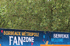 Place des Quinconces Fan Zone de l'Euro 2016 de foot | Photo 33-bordeaux.com