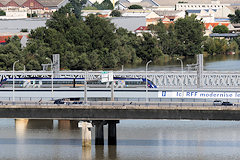 Bordeaux : perspective sur 3 ponts
