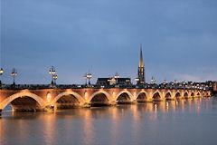 Bordeaux la travers e de la garonne en 8 ponts photos et anecdotes - Pont ferroviaire de bordeaux ...
