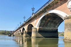 Ponts de bordeaux pont de pierre le premier pont de la ville - Pont ferroviaire de bordeaux ...