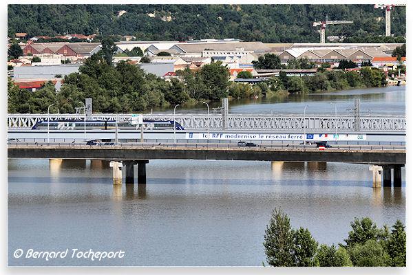 Bordeaux le pont saint jean et les ponts ferroviaires photo 33 - Pont ferroviaire de bordeaux ...