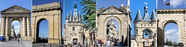 Pr sentation des 6 portes de bordeaux la porte d 39 aquitaine de bourgogne les portes dijeaux - Porte de garage bordeaux ...