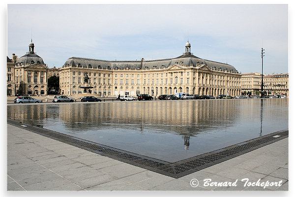 La bourse for Miroir bordeaux