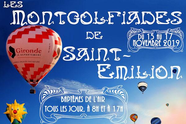 Montgolfiades de Saint Emilion 2019 | 33-bordeaux.com