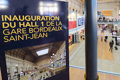 Inauguration du Hall 1 gare Saint Jean le 23 janvier 2017 | photo 33-bordeaux.com