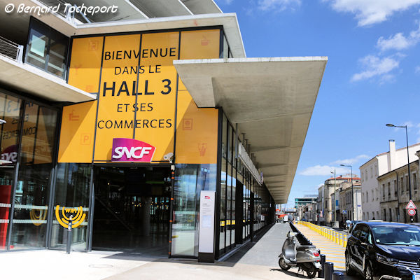 Hall 3 Gare de Bordeaux
