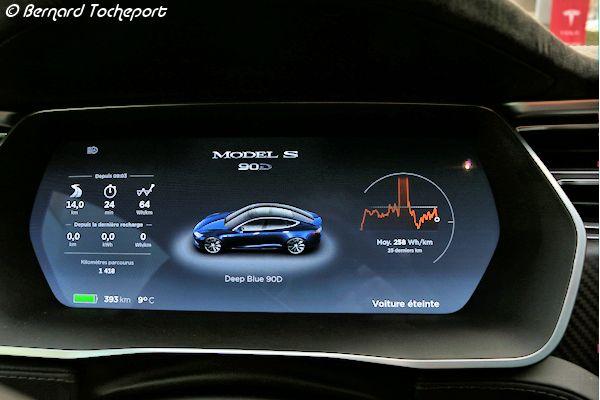 Tesla >> Détail du tableau de bord de la TESLA Model S - Photo 33 ...